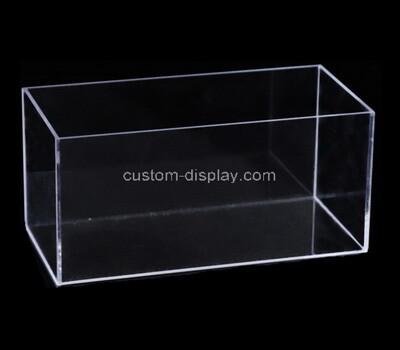 Custom clear plexiglass display case