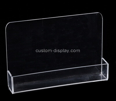 Custom clear perspex display case