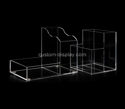Custom table top clear plexiglass display boxes