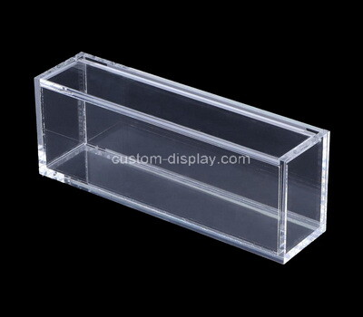 Custom narrow clear acrylic box