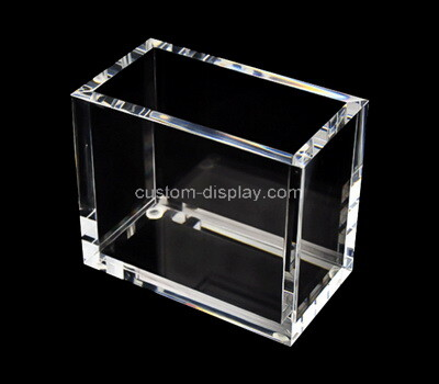 Custom clear acrylic display box