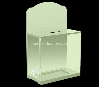 Custom acrylic ballot box