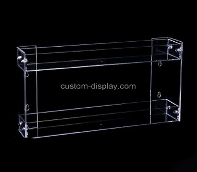 Custom wall mounted 2 tiers acrylic holder
