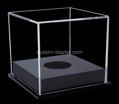 Custom clear acrylic ball display box
