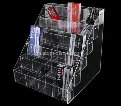 Custom multi grids clear acrylic retail display organizer box