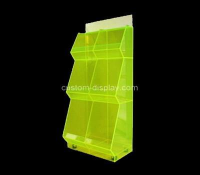 Custom acrylic 3 tiers display cabinet