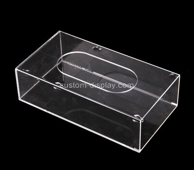 Custom clear acrylic tissue paper holder