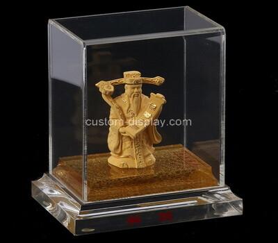 Custom clear plexiglass jewelry display case