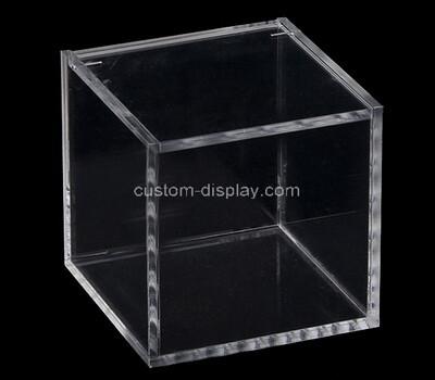 Custom square clear perspex display case