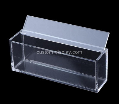 Custom narrow perspex box with lid
