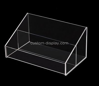 Custom 2 grids clear acrylic box