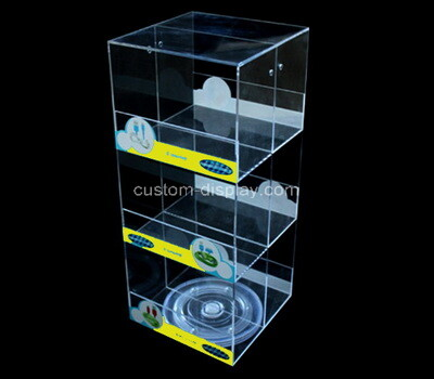 Custom 3 tiers acrylic display cabinet