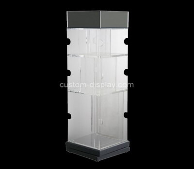 Custom square acrylic display cabinet