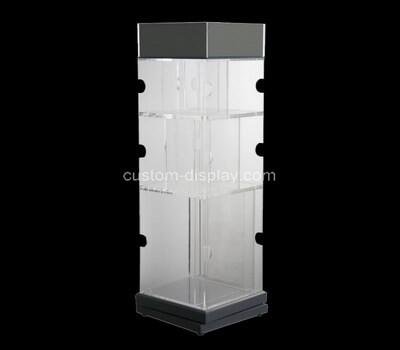 Custom square acrylic display cabinet