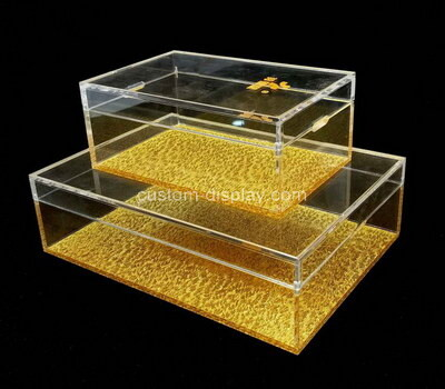 Custom perspex display cases