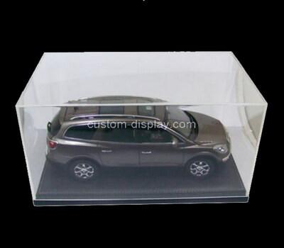 Custom plexiglass model car display case