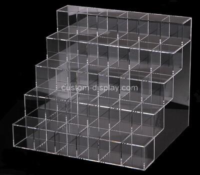 Custom 5 tiers perspex multi grids display box