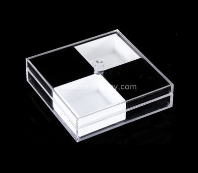 Custom perspex 4 grids display box