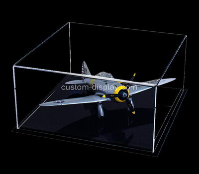 Custom perspex model plane display box