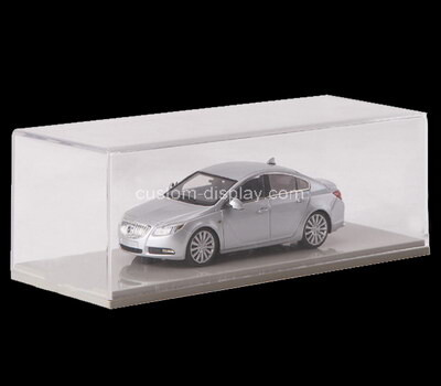 Custom perspex 5 sided model car display box