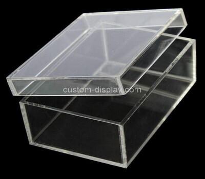 Custom perspex display box with lid