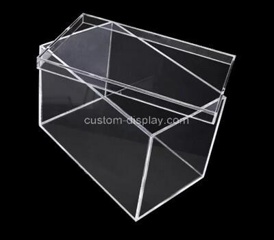 Custom clear perspex box