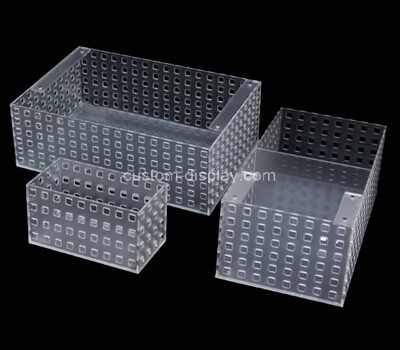 Custom acrylic fish tank breeding isolation incubator box