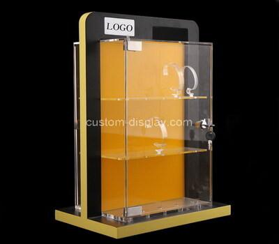 Custom acrylic 3 tiers watches display cabinet