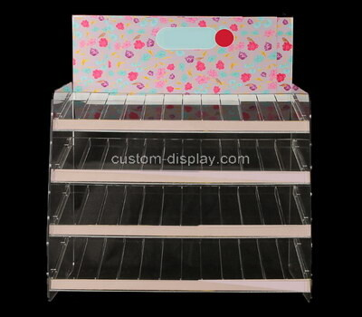 Custom 4 tiers acrylic display holders