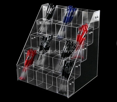 Custom 5 tiers acrylic pens display holders