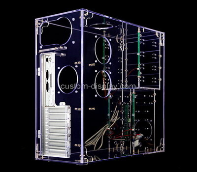 Custom clear acrylic computer case