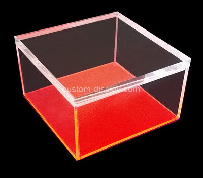 Custom perspex display case
