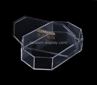 Custom cute plexiglass box with lid