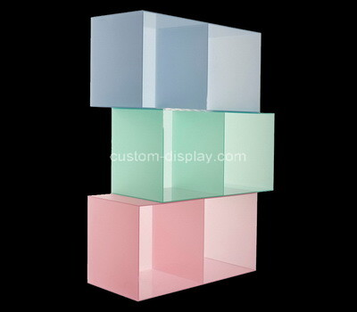 Custom color acrylic boxes