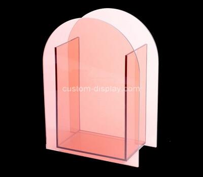 Custom pink acrylic vase