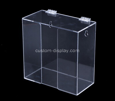 Custom wall transparent acrylic apron box
