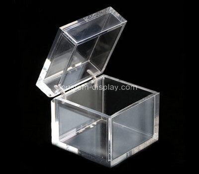 Custom transparent acrylic box with lid