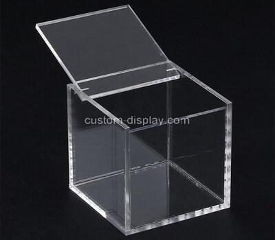Custom transparent square acrylic box