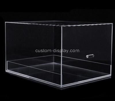 Custom transparent acrylic drawer box