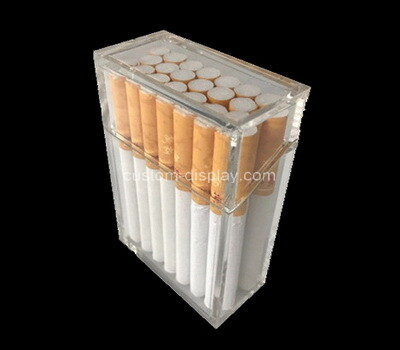 Custom acrylic 20 cigarettes box