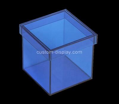 Custom colorfull acrylic wedding gift box