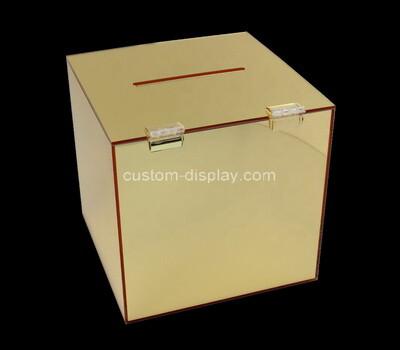 Custom mirror acrylic display box
