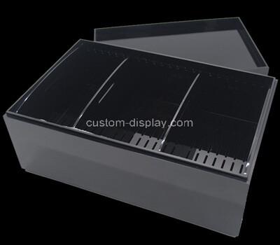 Custom black acrylic cigar packaging box