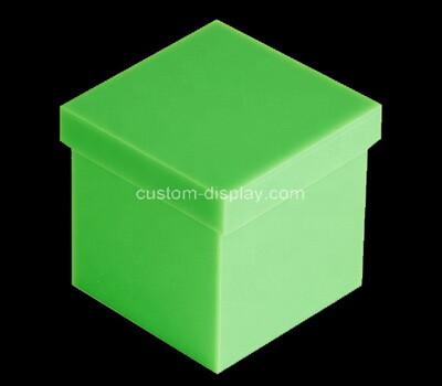 Custom green acrylic gift box