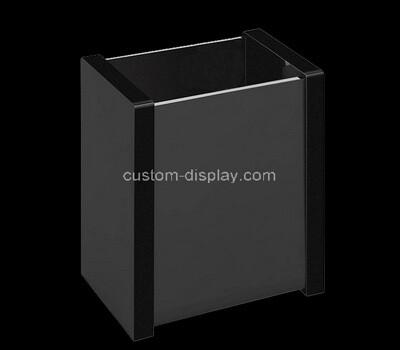 Custom black perspex box