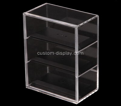 Custom tiered acrylic lucite display case