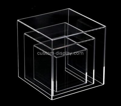 Custom square acrylic lucite display case