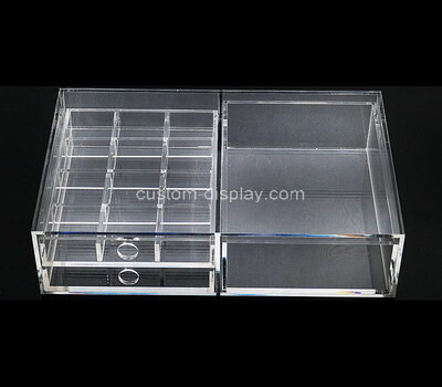 Custom transparent acrylic lucite display box