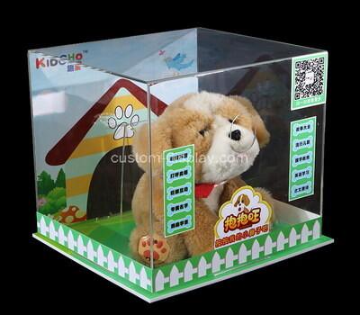 Custom acrylic plexiglass toys display case