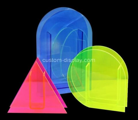 Custom made shape & size acrylic perspex flowers vase